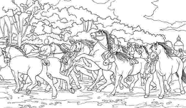 horse herd coloring pages wild horses coloring pages getcoloringpagescom coloring herd pages horse