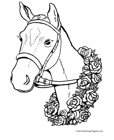 horse picture to colour american saddlebred mare horse coloring page free to picture colour horse