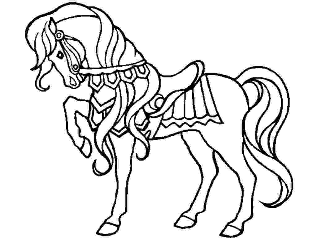 horse printables horse coloring pages preschool and kindergarten horse printables 1 1