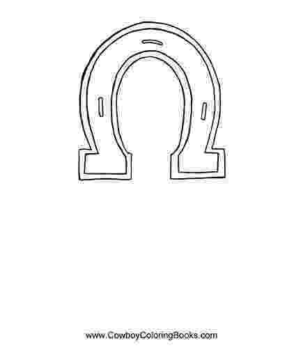 horseshoe pattern printable horseshoe template i used free blockpostercom to print printable horseshoe pattern