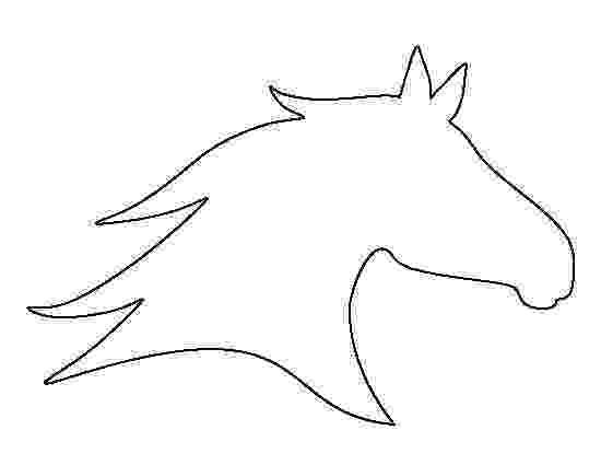horseshoe pattern printable running horse pattern diy pinterest patterns horse horseshoe pattern printable