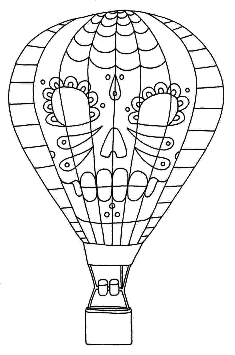 hot air balloon coloring page nice best air balloon coloring page hot air balloon page balloon hot air coloring