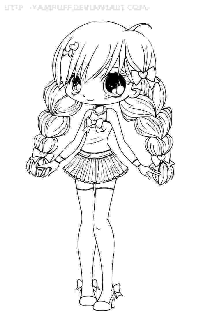 hot girl coloring pages anime girl lineart by erangot anthro pinterest art coloring pages girl hot