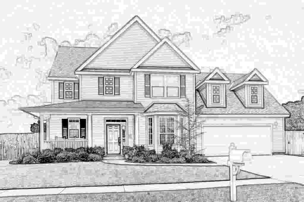 how to sketch a house house sketch by eaglespare on deviantart house to sketch a how
