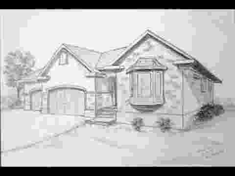 how to sketch a house how to draw a house for beginners drawingforallnet how sketch house a to