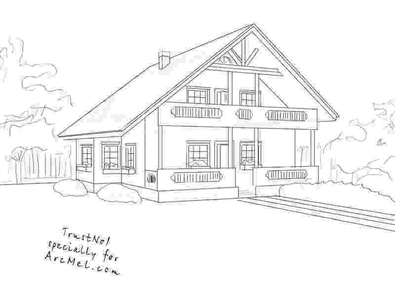 how to sketch a house how to draw the white house step by step drawing how to sketch a house