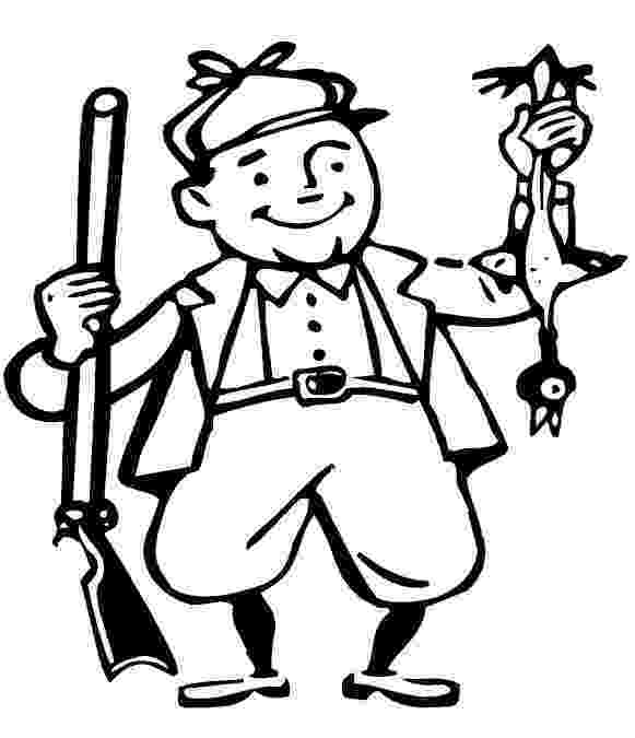 hunting coloring pictures 1000 images about preschool coloring pages on pinterest hunting coloring pictures