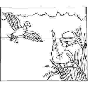 hunting coloring pictures hunting for duck coloring sheet coloring pictures hunting