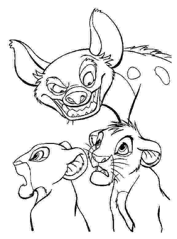 hyena coloring pages awesome hyena drawing coloring page kids play color coloring hyena pages