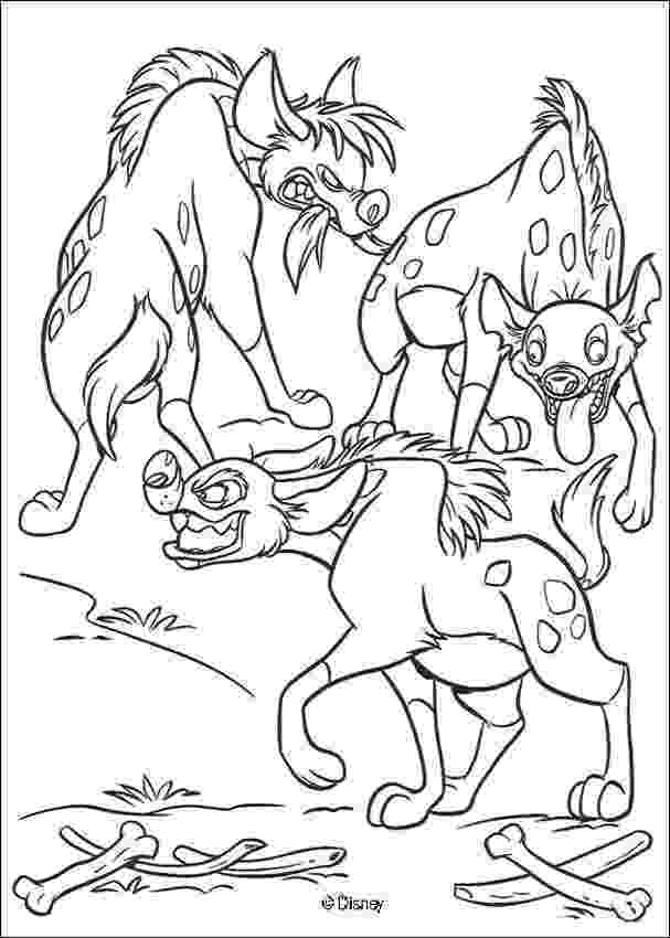 hyena coloring pages spotted hyena coloring page hyena coloring pages