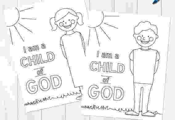 i am a child of god coloring page child of god crown coloring book of god child coloring a i am page