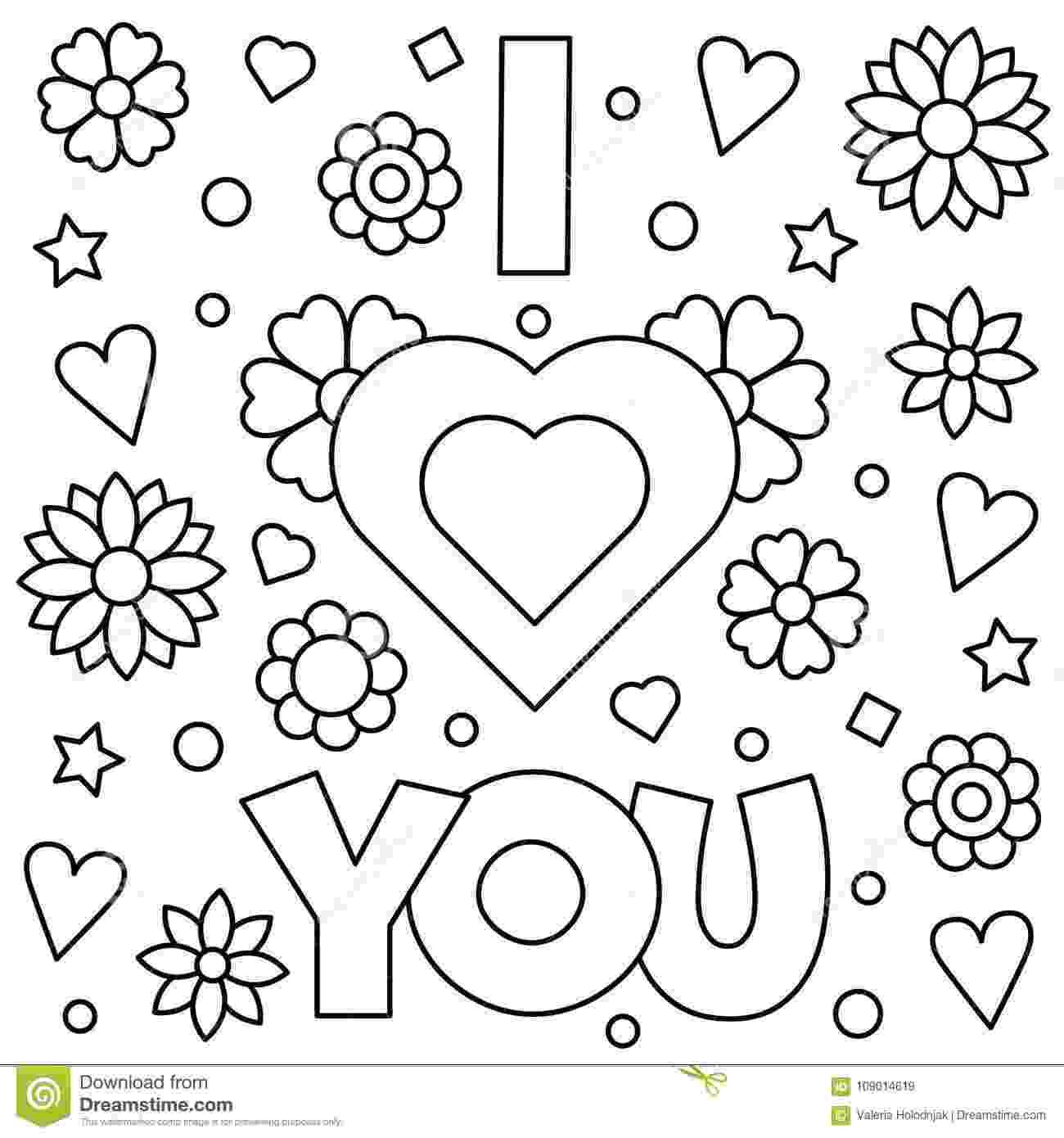 i love you coloring pictures i love you mom coloring pages to download and print for free i coloring you pictures love
