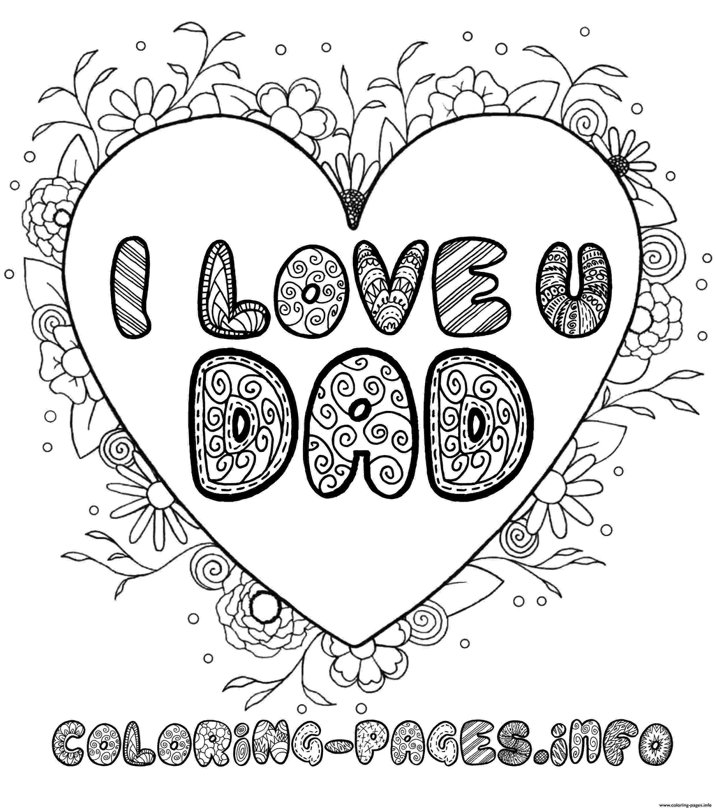 i love you dad coloring pages i love you dad coloring pages for kids desktop you coloring dad pages i love
