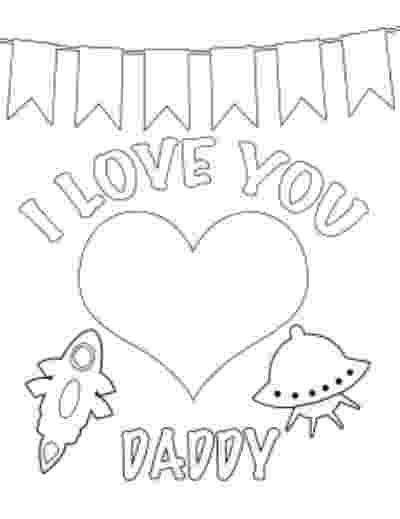 i love you dad coloring pages valentine39s day activities for pre k kids you dad love pages i coloring