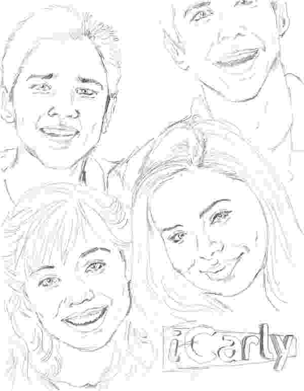 icarly coloring pages to print 25 best icarly images on pinterest coloring pages to icarly print pages coloring