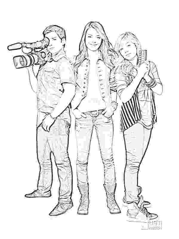 icarly coloring pages to print icarly coloring pages 2 coloring pages to print icarly print coloring pages to