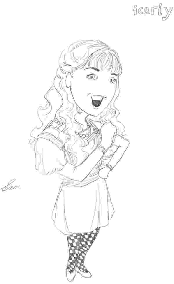 icarly coloring pages to print icarly coloring pages coloring pages pages print icarly coloring to