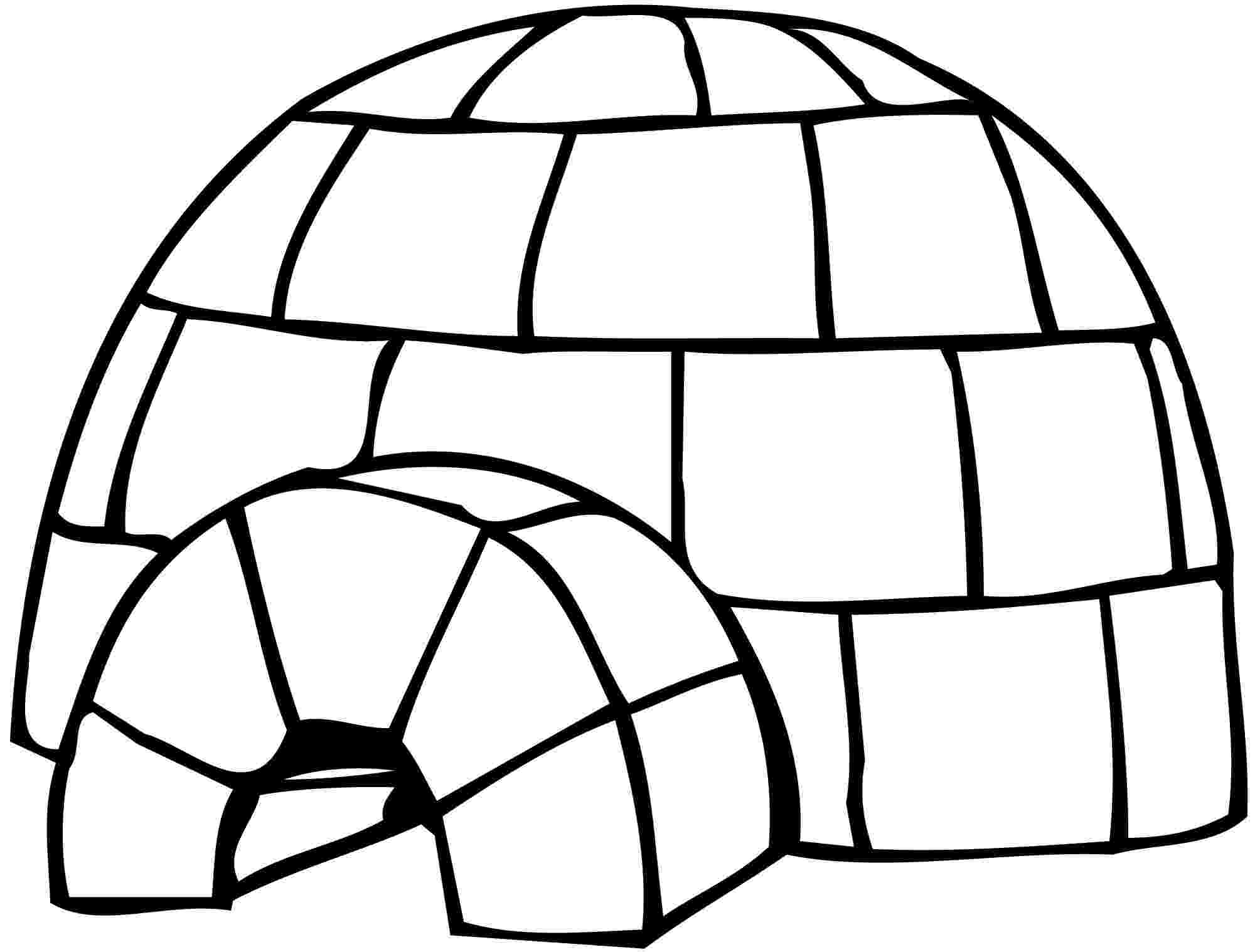 igloo coloring page igloo coloring page at getcoloringscom free printable page igloo coloring
