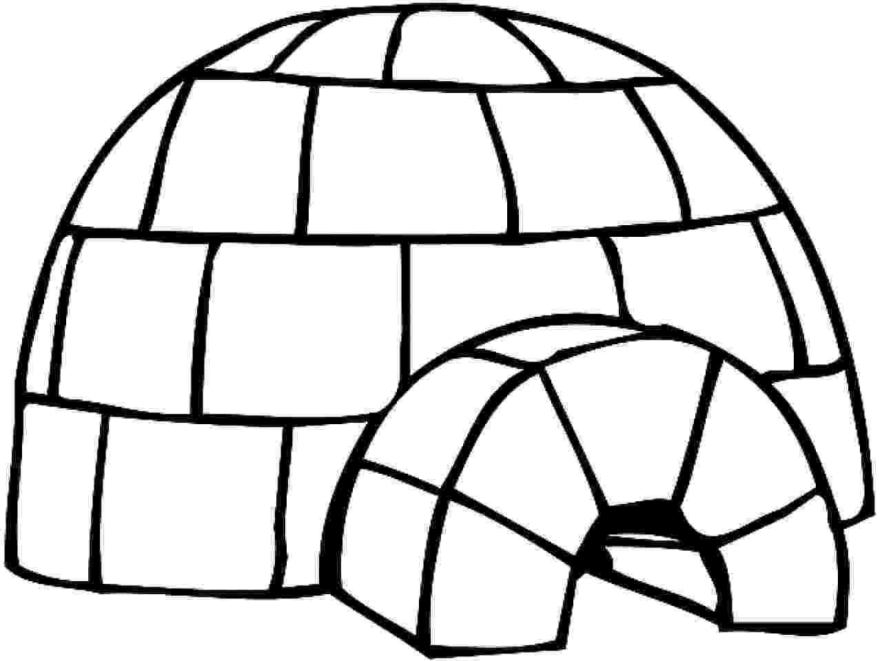 igloo coloring page igloos igloo facts coloring igloo page