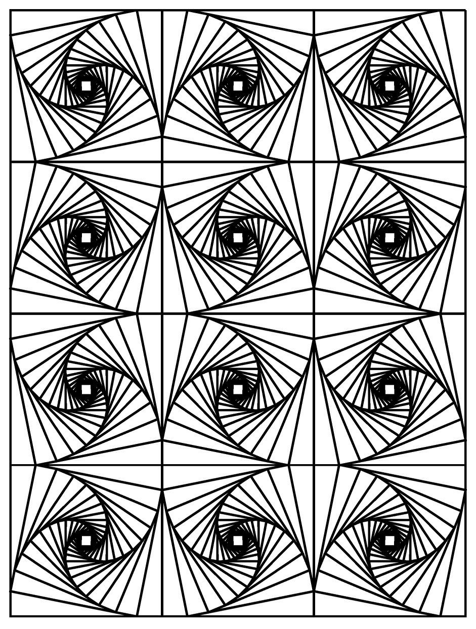 illusions coloring pages optical illusion 27 coloring page free printable illusions coloring pages