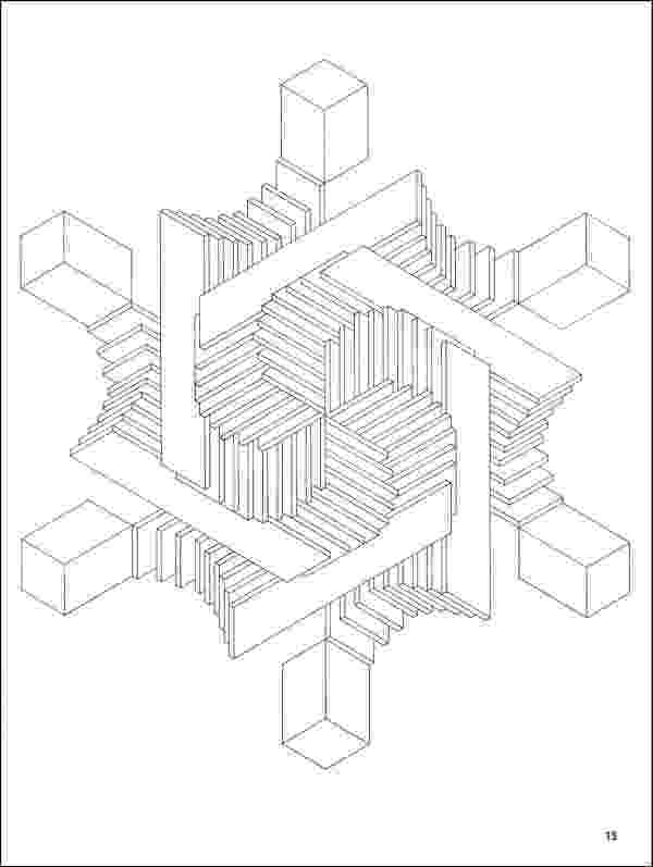 illusions coloring pages optical illusion coloring pages to download and print for free coloring pages illusions