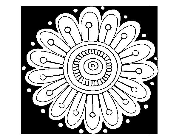 imagenes de margaritas para colorear dibujo de un mandala margarita para pintar colorear o de margaritas para colorear imagenes