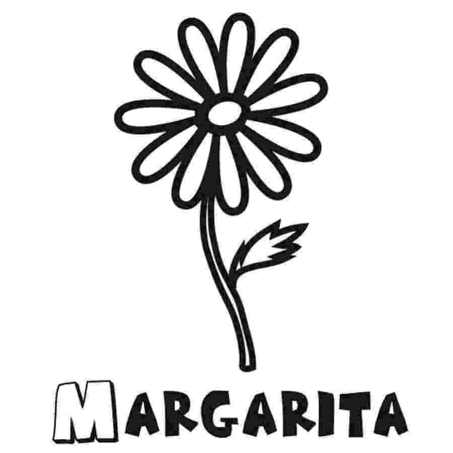 imagenes de margaritas para colorear flowers coloring dibujo de margarita infantil para imagenes para margaritas de colorear