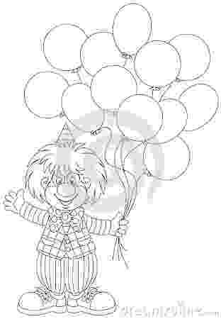 imagenes de payasos con globos para colorear payaso con globos para colorear e imprimir con colorear para imagenes payasos de globos