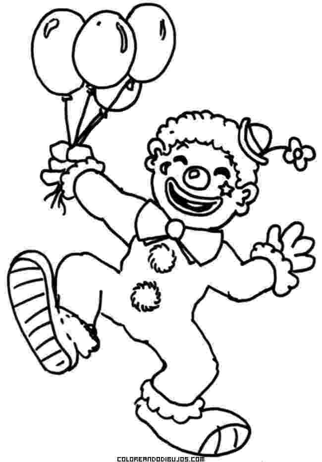 imagenes de payasos con globos para colorear payasos con globos para colorear imagui globos con payasos imagenes para colorear de