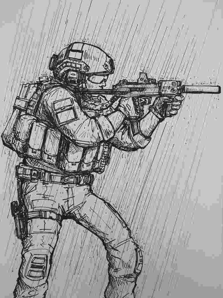 imagenes de soldados para dibujar soldier crouching coloring page coloringcrewcom para de soldados imagenes dibujar