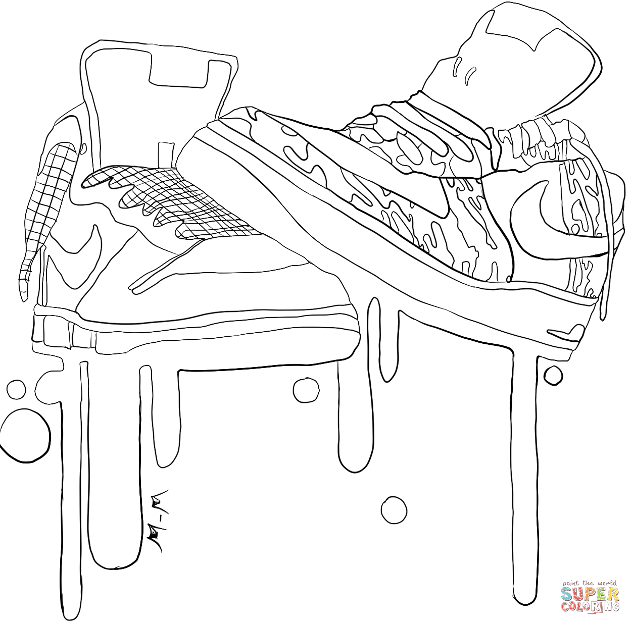images of shoes to color shoes coloring pages getcoloringpagescom color images to of shoes