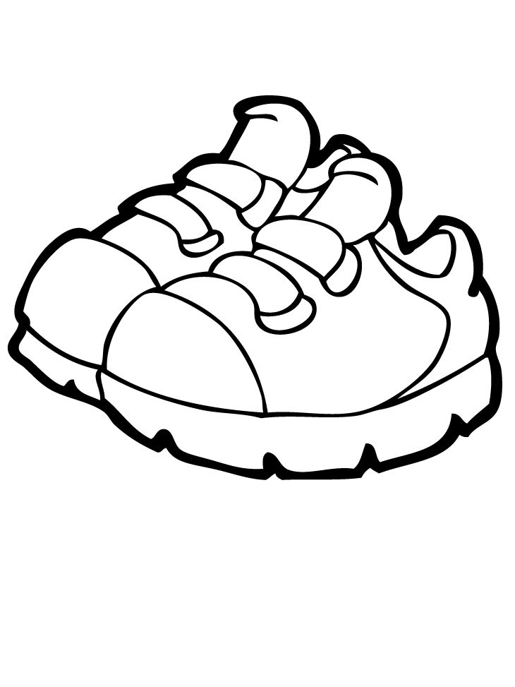 images of shoes to color shoes coloring pages getcoloringpagescom images to color of shoes