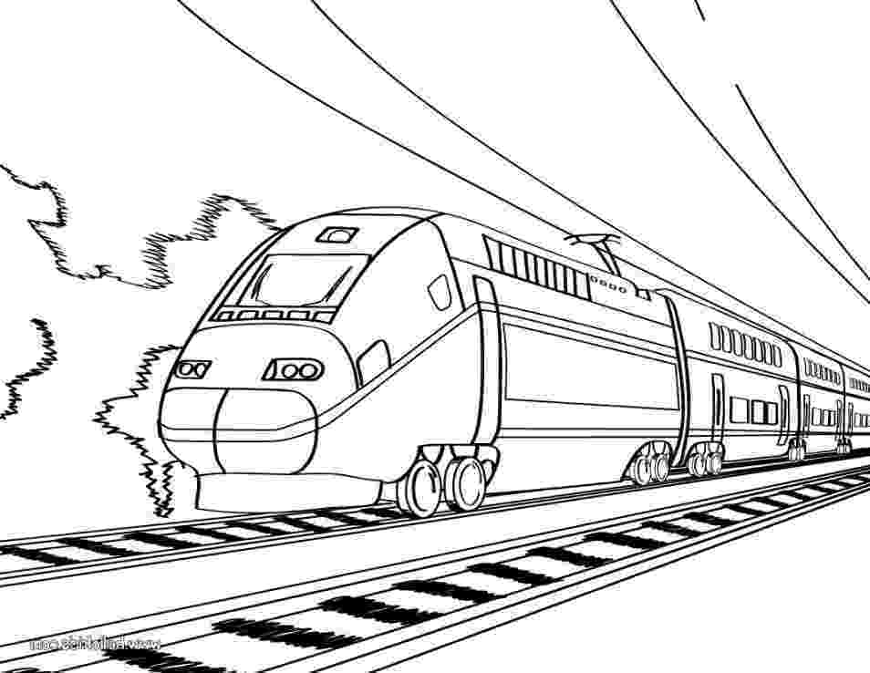 images of train for colouring railroad amazing steam train on railroad coloring page colouring train for images of