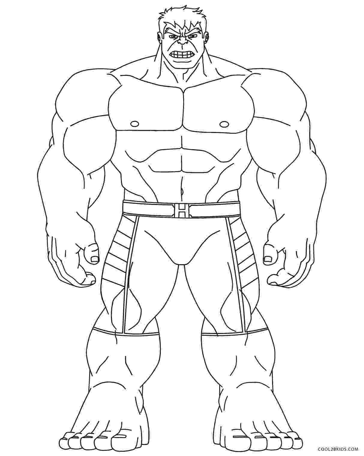 incredible hulk coloring free printable hulk coloring pages for kids cool2bkids coloring hulk incredible 1 1