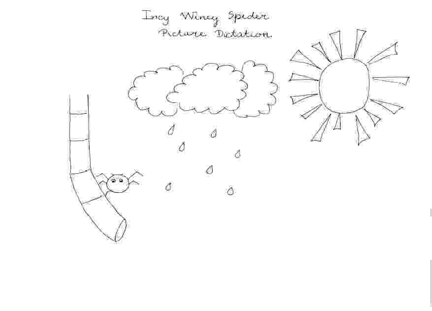incy wincy spider colouring sheets incy wincy spider colouring worksheets miss t esl incy sheets spider colouring wincy