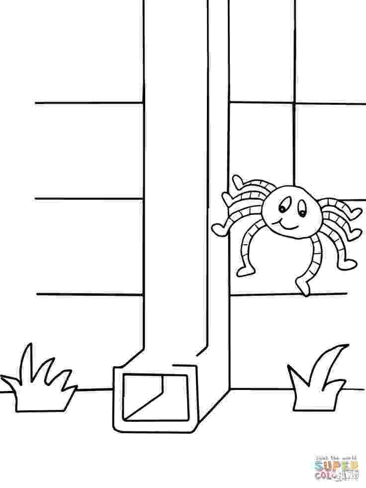 incy wincy spider colouring sheets itsy bitsy spider super coloring spider coloring page wincy sheets incy colouring spider