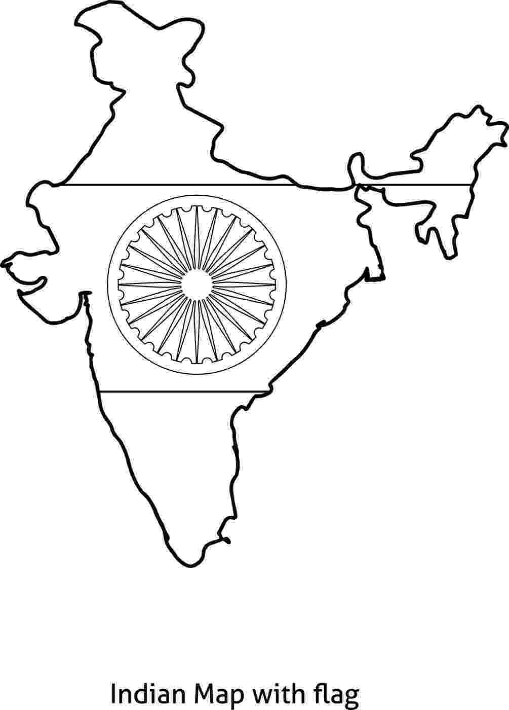 indian flag picture for colouring india independence day coloring pages for kids indian for flag colouring picture