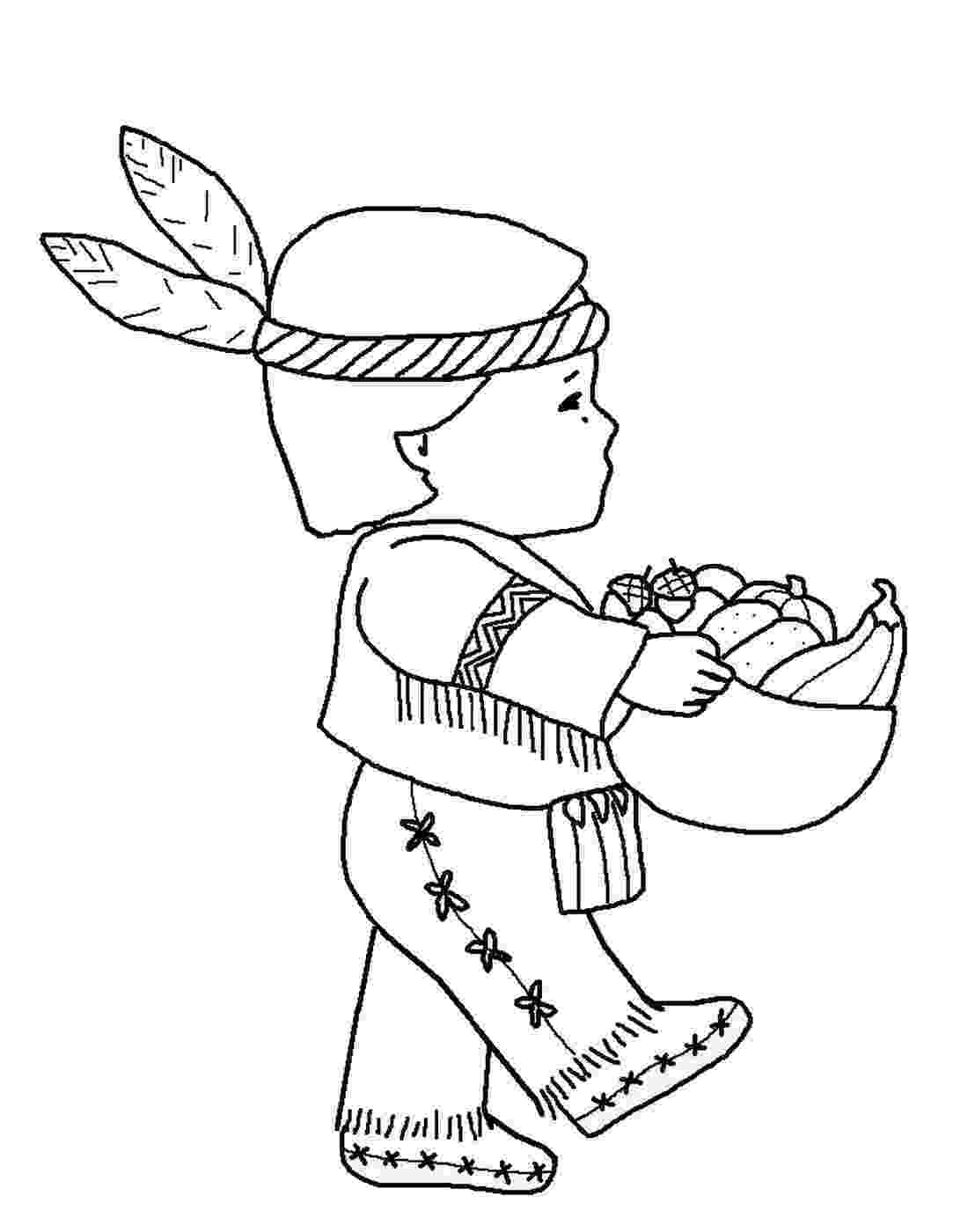 indian pictures to color indians coloring pages to pictures color indian