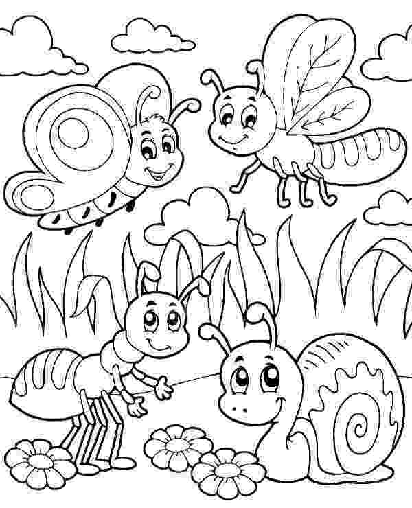 insects for coloring insect coloring pages getcoloringpagescom insects for coloring