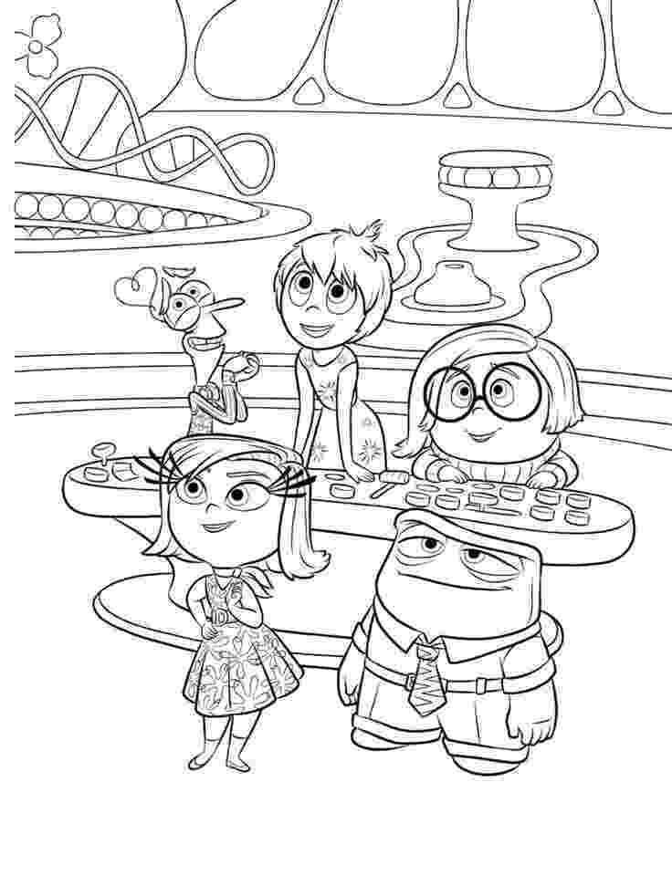 inside out coloring pages all characters inside out coloring pages disney coloring sheets disney characters pages coloring out inside all
