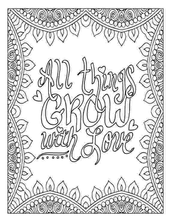inspirational quotes colouring pages free inspirational quote adult coloring book image from colouring pages quotes inspirational