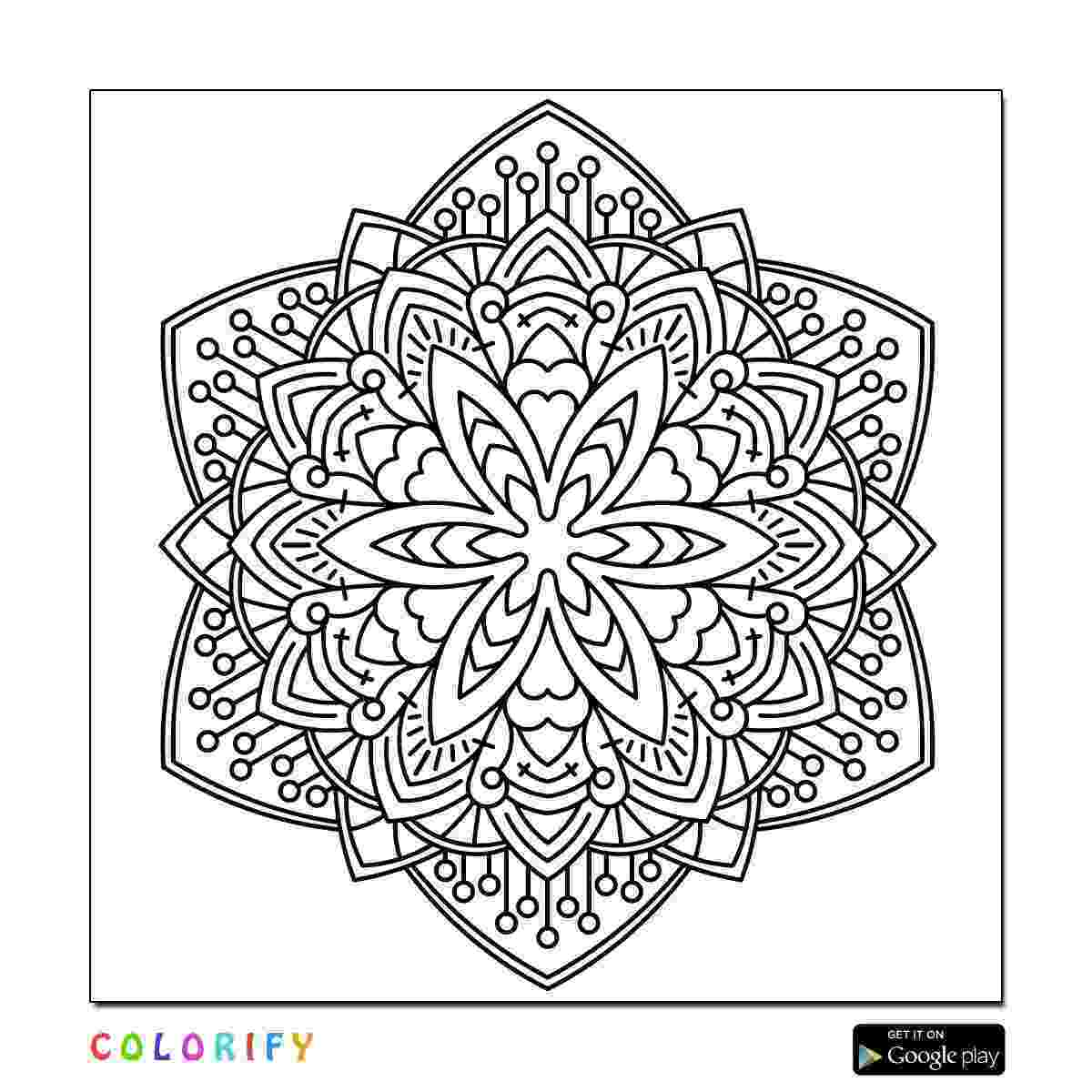 intricate coloring pages 29 intricate mandala coloring pages collection coloring pages intricate coloring