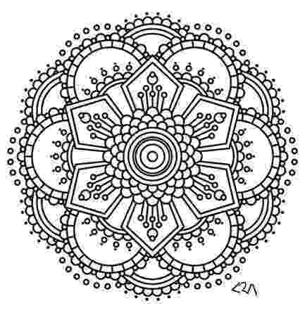 intricate coloring pages intricate coloring pages difficult level mandala coloring intricate pages