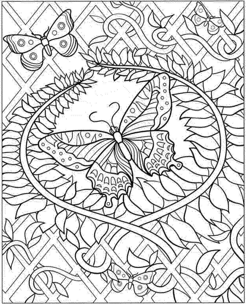 intricate coloring pages intricate coloring pages for adults coloring home coloring intricate pages