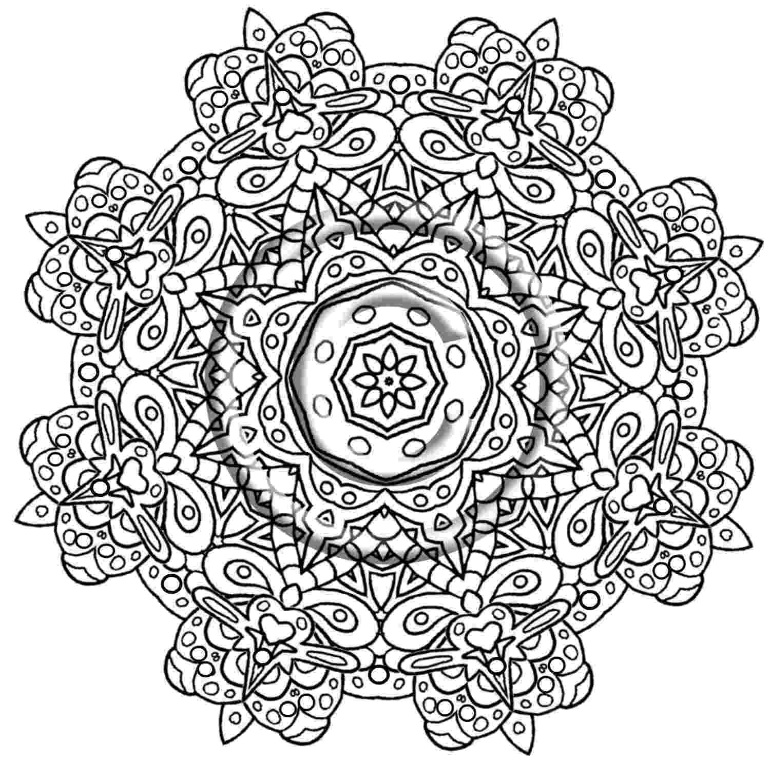 intricate coloring pages intricate flower coloring pages coloring home coloring intricate pages