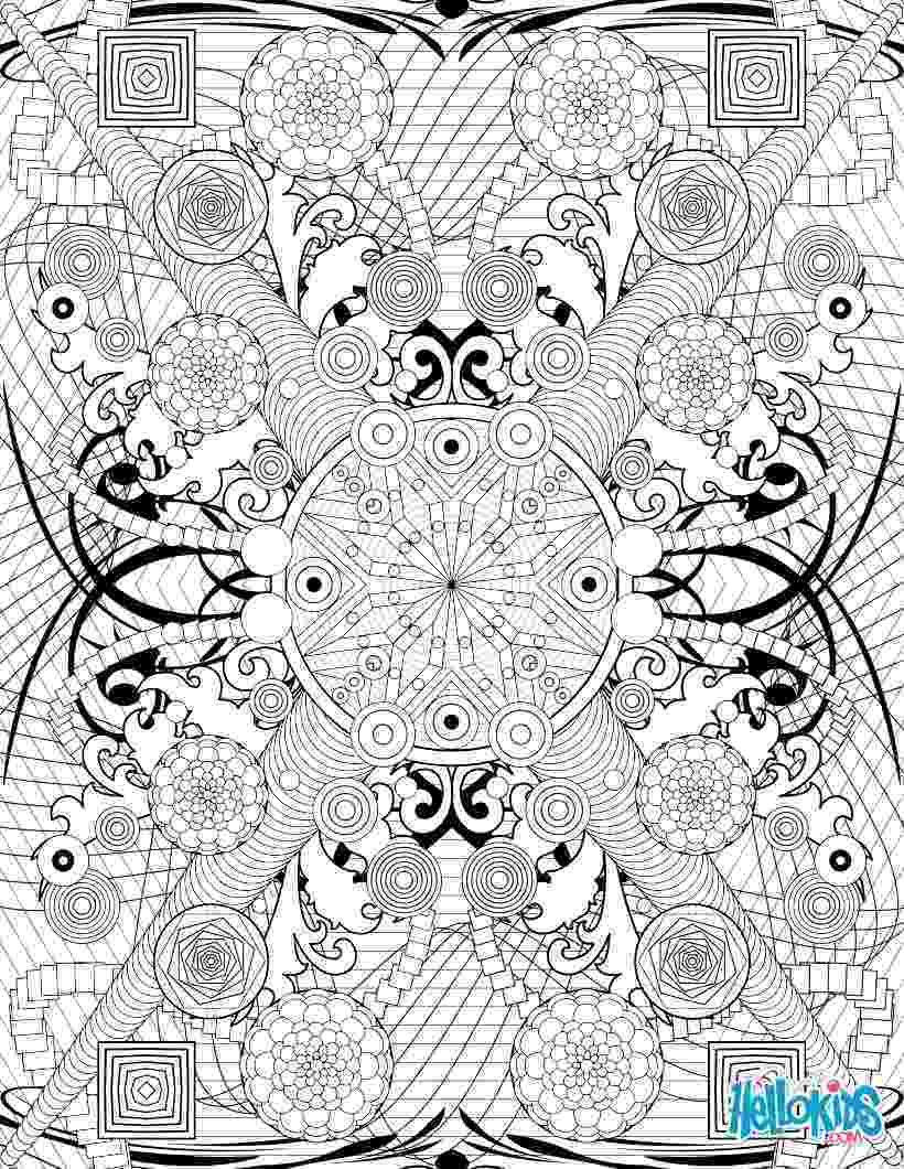 intricate coloring pages rosette intricate patterns coloring pages hellokidscom coloring pages intricate