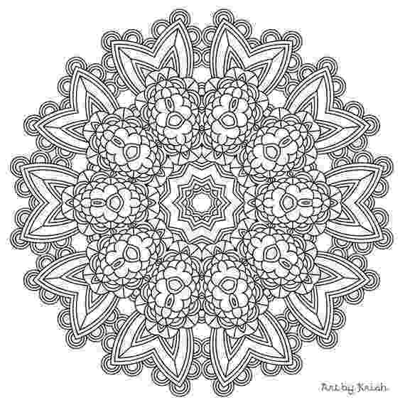 intricate designs to color 3 printable pages to color 1 mandala and 2 patterns to color designs intricate