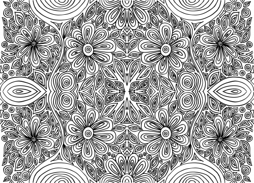 intricate designs to color free printable mandala coloring page from mandalas to to color intricate designs