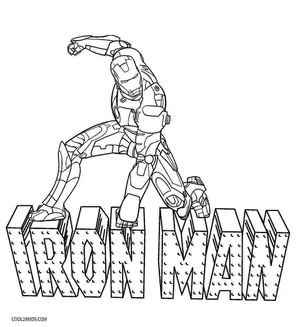 ironman coloring free printable iron man coloring pages for kids best ironman coloring 1 2