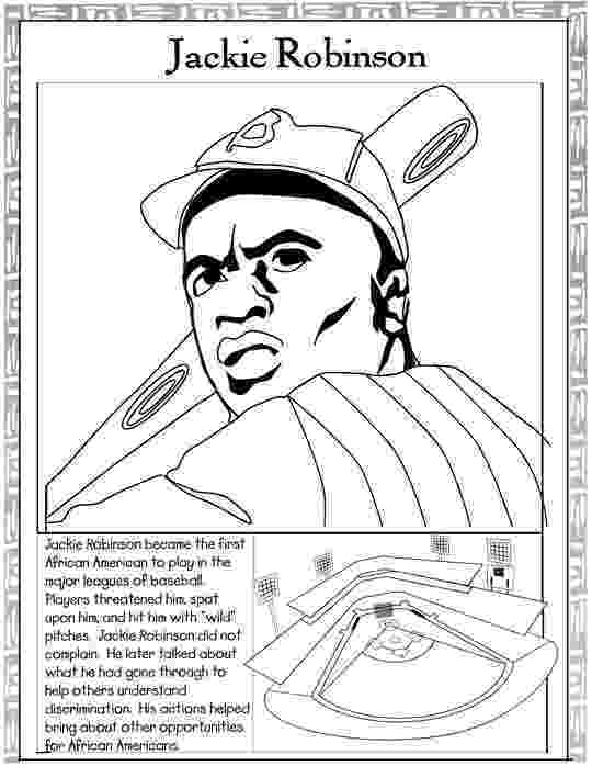 jackie robinson coloring page black history month coloring pages best coloring pages robinson jackie coloring page
